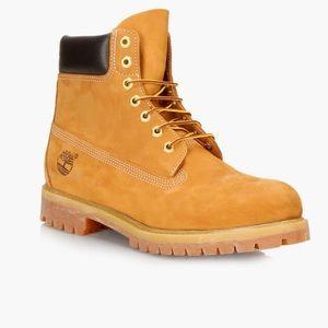 "Timberland Men's 6"" Basic Waterproof Boot Size 9"